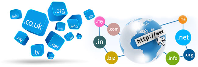 Domain Registration & Designing